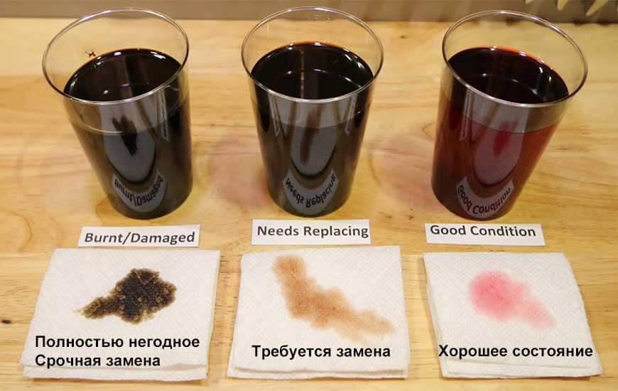 Трансмиссионное масло когда надо менять тест