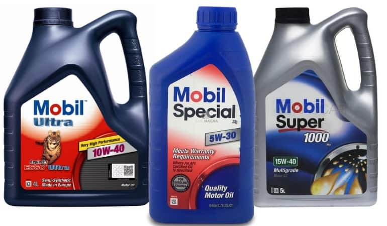 мобил масло