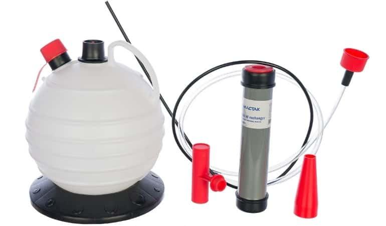 вакуумный аппарат для откачки масла