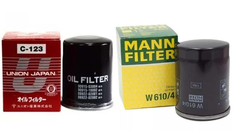 Как подобрать масляный фильтр: по марке авто и вин коду
