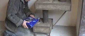 запуск печи на отработанном масле своими руками