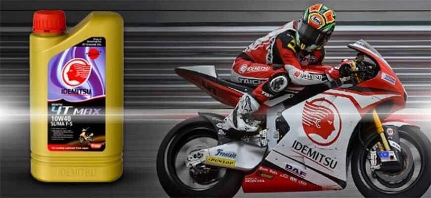 Idemitsu for moto bike 4t 10W-40