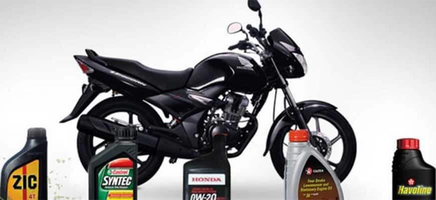 Какое масло заливать в мотоцикл