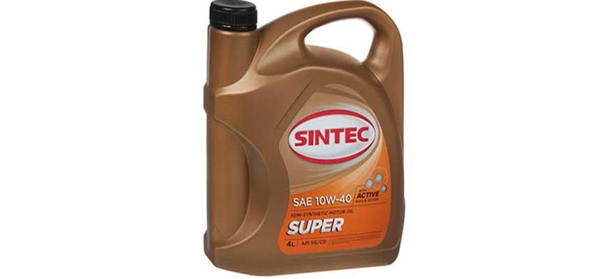Моторное масло SINTEC SUPER SAE 10W40