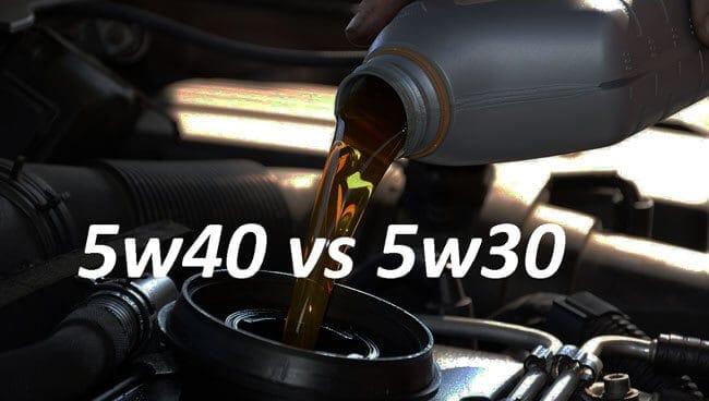 Что больше подходит для зимних условий – 5w30 или 5w40?