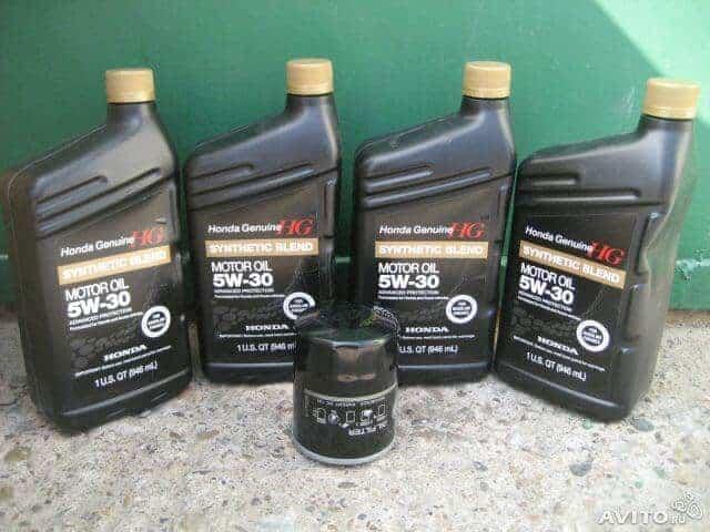 Автомобильное масло «Хонда» 5W30
