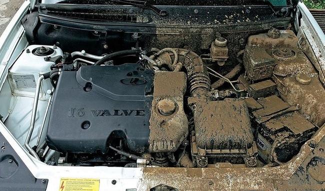 Чем помыть двигатель автомобиля?