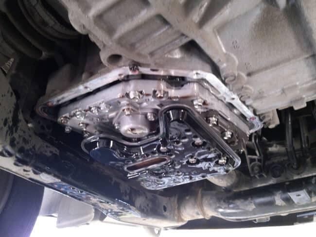 Смена трансмиссионной смазки в Hyundai Accent