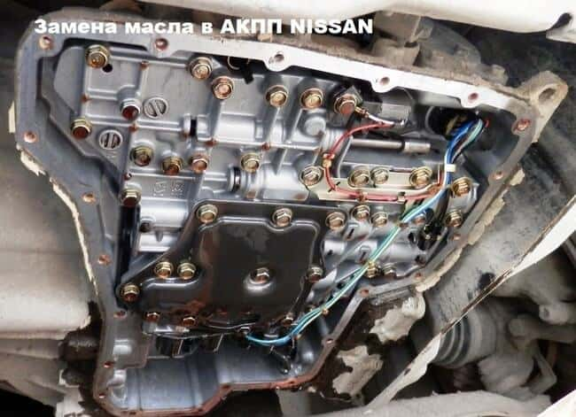 Замена смазки в коробке передач Nissan Almera
