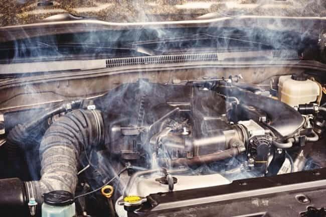 Причины и признаки попадания антифриза в двигатель