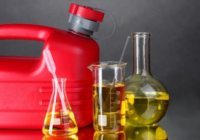 Как правильно добавить двухтактное масло в дизельное топливо?
