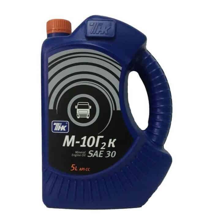Применение моторного масла М10Г2К