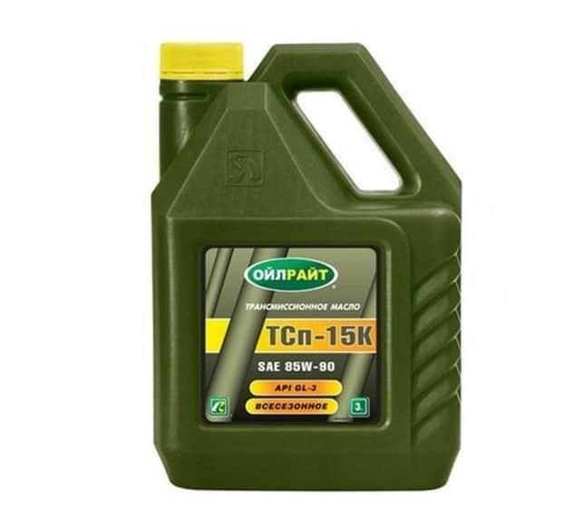 Применения масла ТСП-15К
