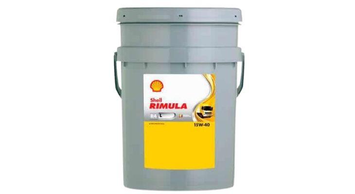 Масло Shell Rimula R4 (L) 15W40